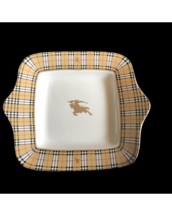 (SOLD) BURBERRY CAKE PLATE