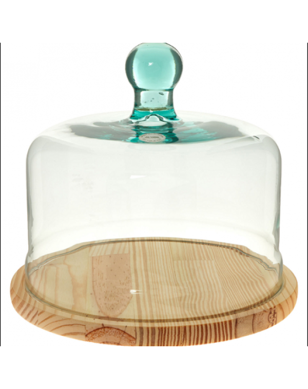(OUT OF STOCK) GLASS DOME CHEESE OR  CAKE STAND