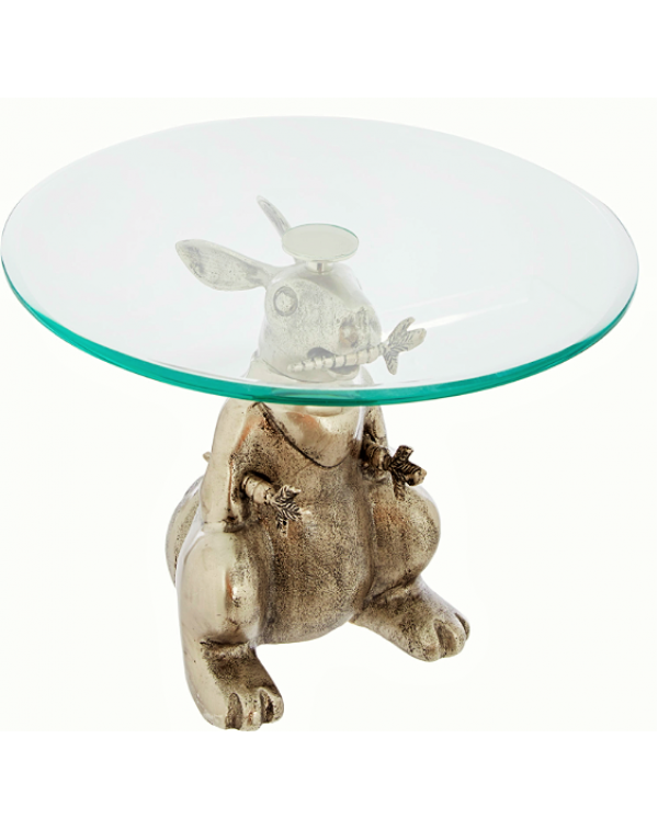 (OUT OF STOCK) RABBIT ANTIQUE STYLE LARGE CAKE STA...