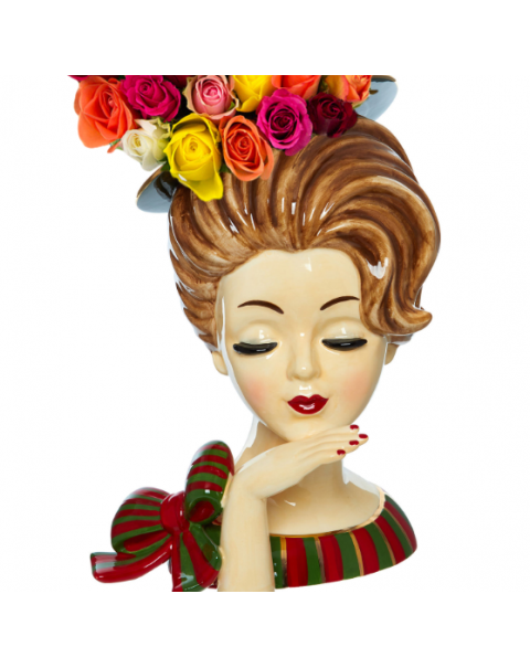(OUT OF STOCK) New Large Lady Head Vase