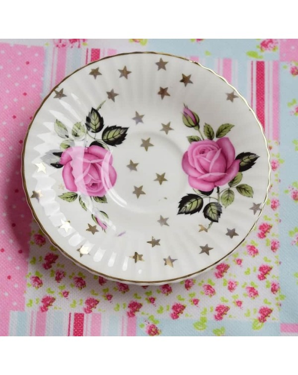 ROSE AND STAR SAUCER