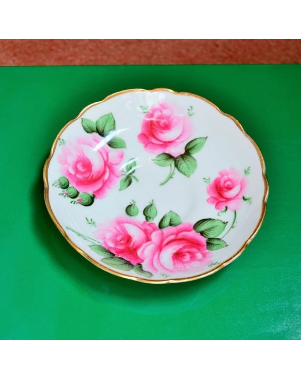 (SOLD) HAMMERSLEY ROSE SAUCER
