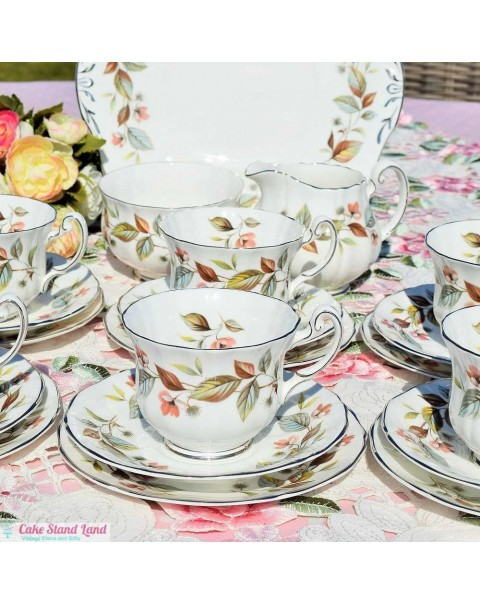 (OUT OF STOCK) ROYAL ADDERLEY BEECHWOOD TEA SET