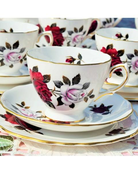 (OUT OF STOCK) COLCLOUGH AMORETTA TEA SET