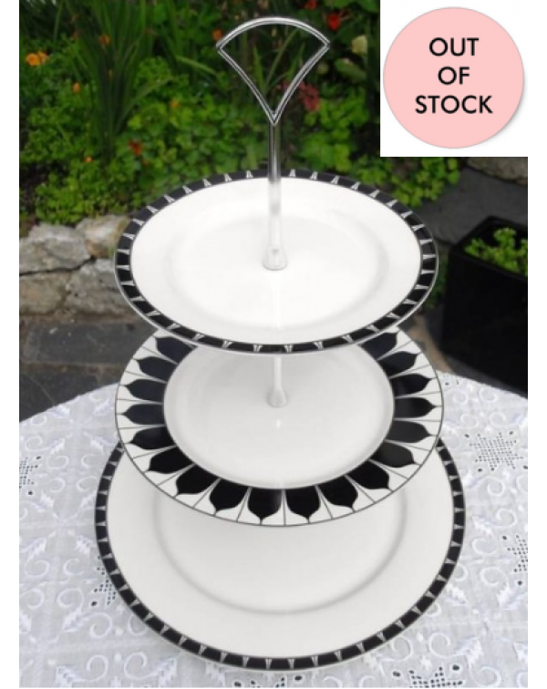 (OUT OF STOCK) AYNSLEY MOZART CAKE STAND