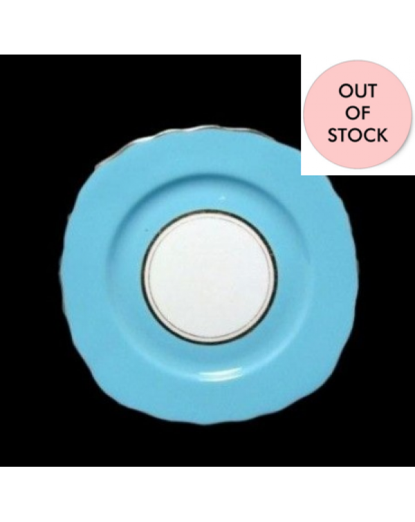(OUT OF STOCK) COLCLOUGH BLUE TEA PLATE