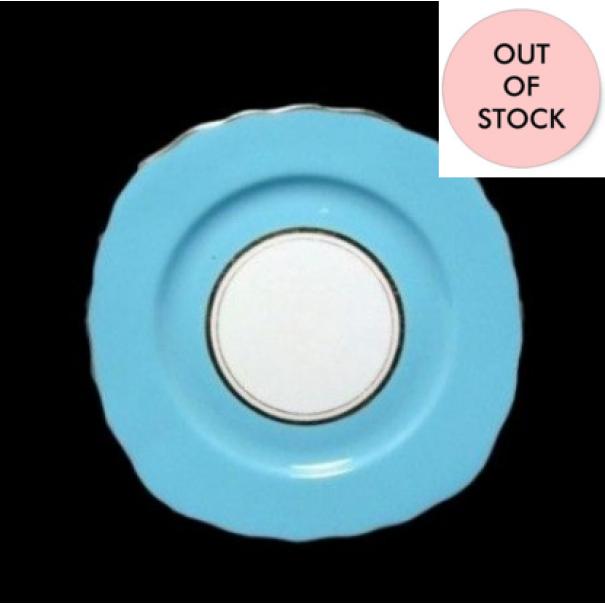 (OUT OF STOCK) COLCLOUGH BLUE TEA PLATE