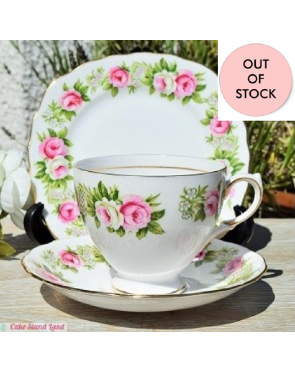 (OUT OF STOCK) COLCLOUGH ENCHANTMENT TEA TRIO