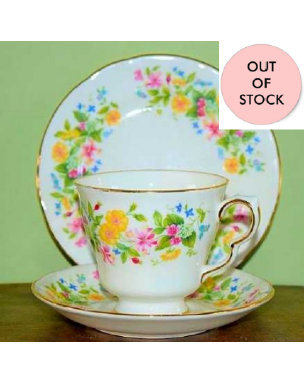 (OUT OF STOCK) COLCLOUGH HEDGEROW TEA TRIO