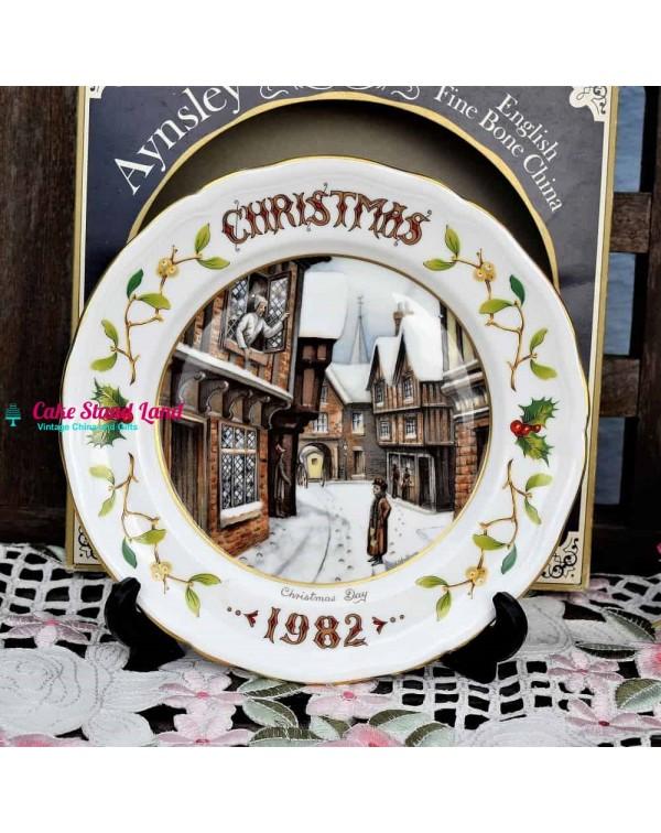 AYNSLEY CHRISTMAS 1982 CHRISTMAS DAY