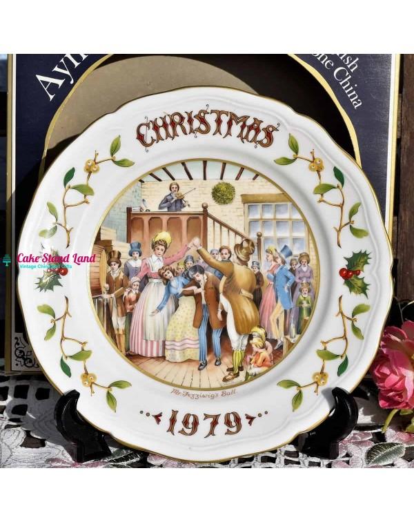 AYNSLEY CHRISTMAS 1979 MR FEZZIWIGS BALL