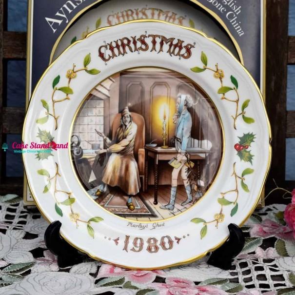 AYNSLEY CHRISTMAS 1980 MARLEY'S GHOST