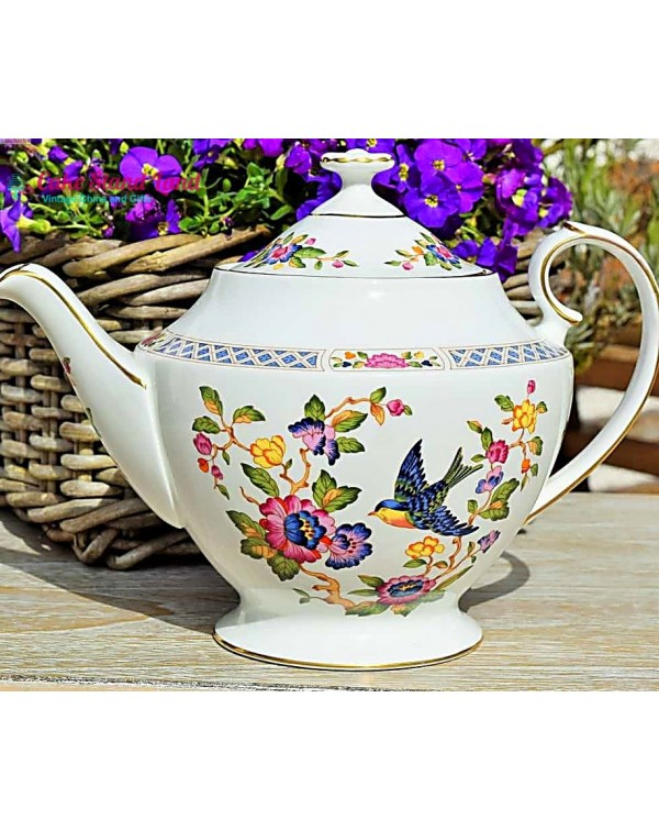 (OUT OF STOCK) AYNSLEY CAPISTRANO TEAPOT (1972)