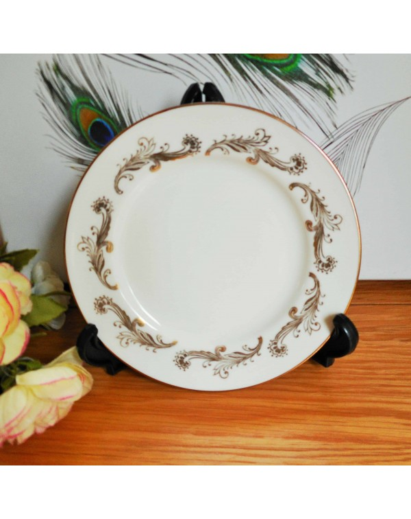 (SOLD) AYNSLEY GOLD TEA PLATE