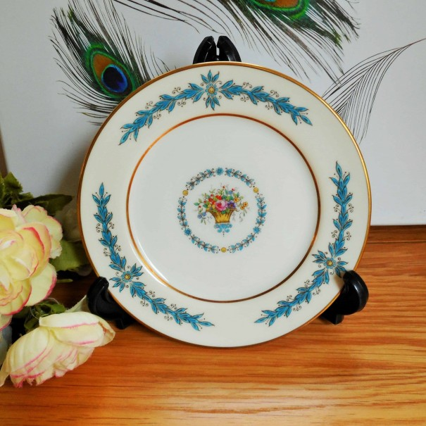 (OUT OF STOCK) AYNSLEY GARLAND TEA PLATE