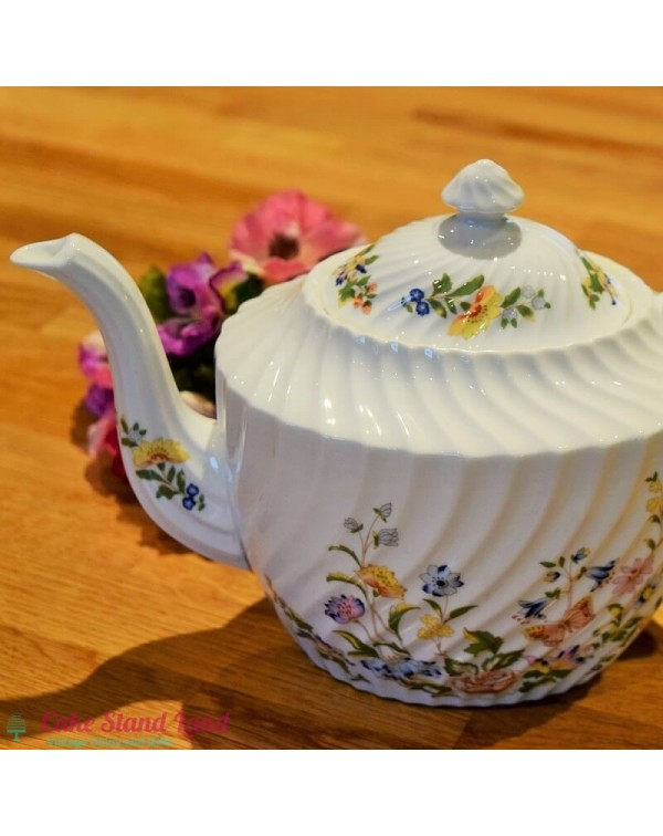 (OUT OF STOCK) AYNSLEY COTTAGE GARDEN 3 PINT TEAPO...