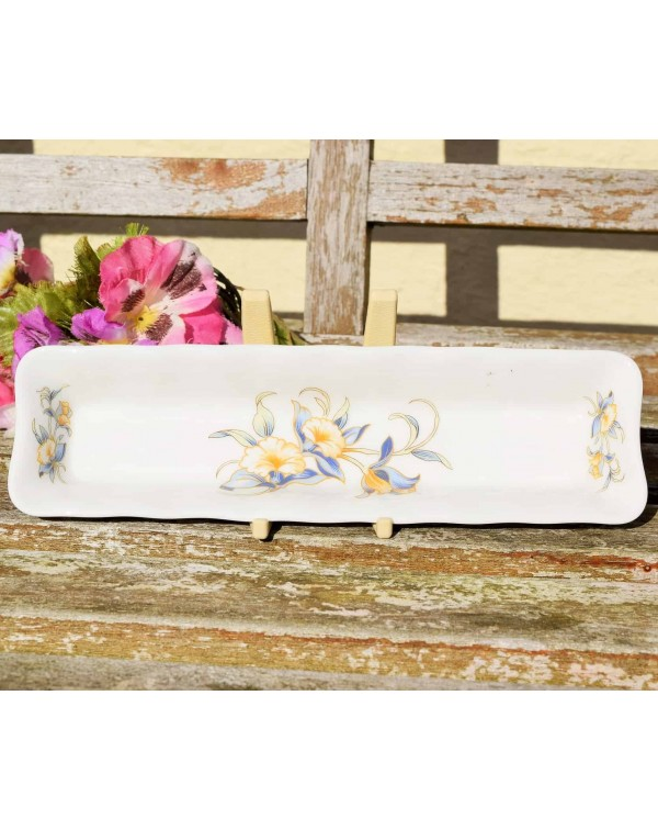 (SOLD) AYNSLEY JUST ORCHIDS CHOCOLATE TRAY