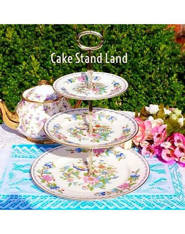 AYNSLEY PEMBROKE CAKE STAND