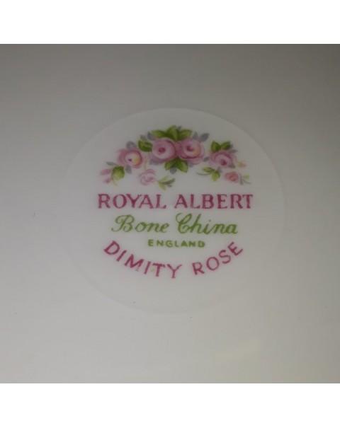 ROYAL ALBERT DIMITY ROSE TEAPOT