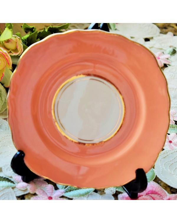(SOLD) COLCLOUGH BALLET PINK TEA PLATE