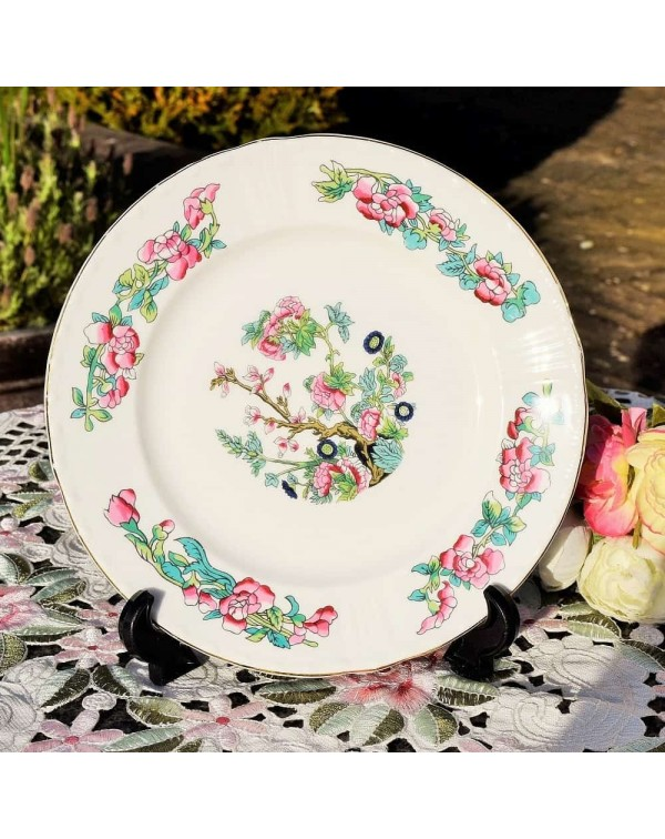 BERKSHIRE CHINA INDIAN TREE SALAD PLATE