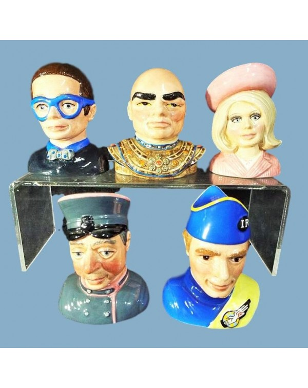 (OUT OF STOCK) BESWICK THUNDERBIRDS BUSTS