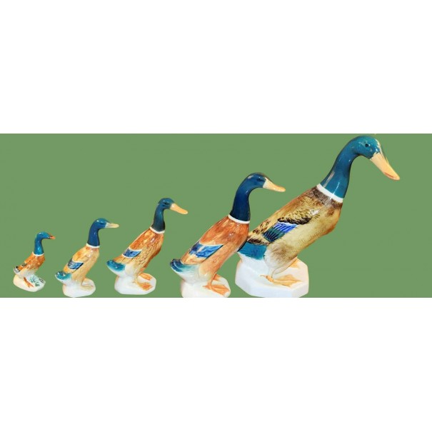 (OUT OF STOCK) BESWICK MALLARD DUCKS SET OF 5