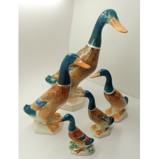 BESWICK MALLARD DUCKS SET OF 5