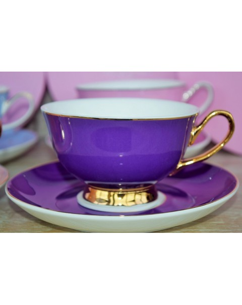 (OUT OF STOCK) BOMBAY DUCK BOXED TEA CUPS & SAUCERS
