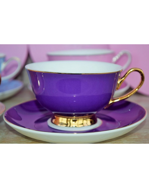 (OUT OF STOCK) BOMBAY DUCK PINK TEA CUP & SAUC...