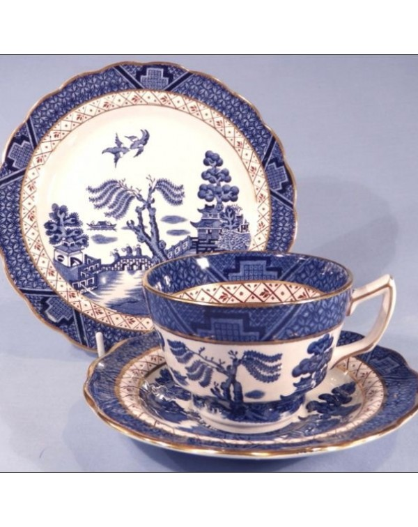 (OUT OF STOCK) BOOTHS REAL OLD WILLOW TEA TRIO