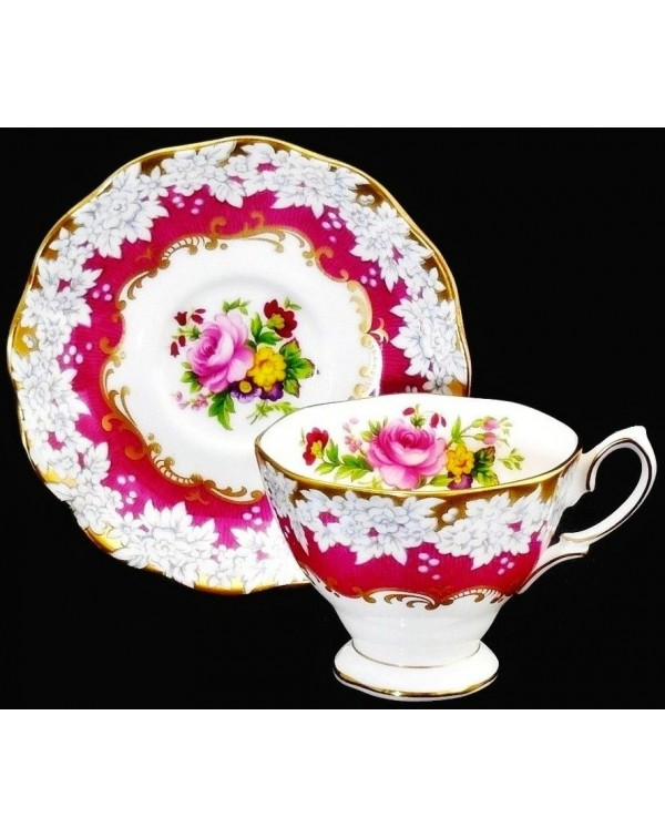 (OUT OF STOCK) BRIGHTON ROSE CUP & SAUCER