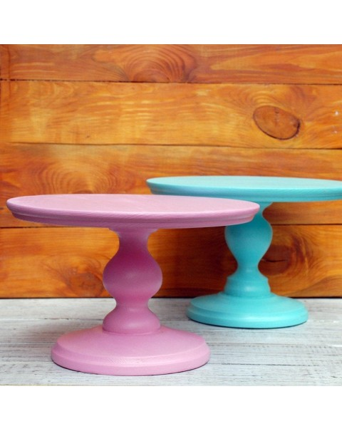 16 INCH PEDESTAL CAKE STAND COLOURS