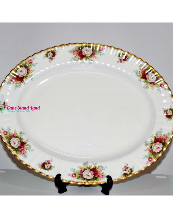 ROYAL ALBERT CELEBRATION LARGE PLATTER