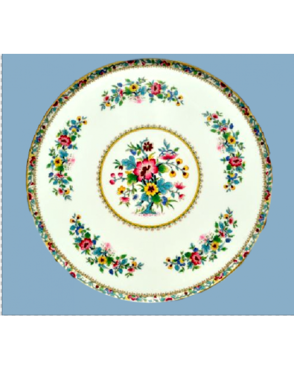 (OUT OF STOCK) COALPORT MING ROSE TEA PLATE