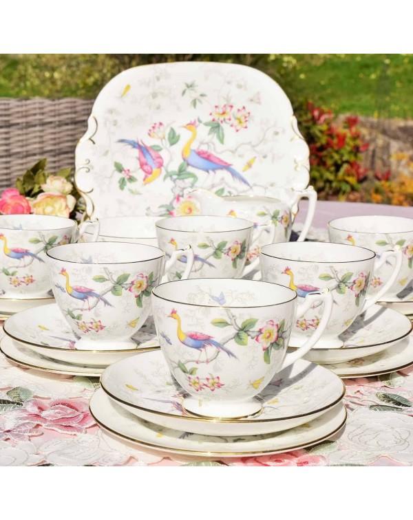 (SOLD) COALPORT PARADISE TEA SET