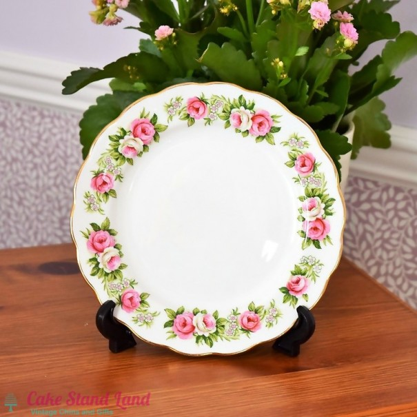 (OUT OF STOCK) COLCLOUGH ENCHANTMENT SALAD PLATE