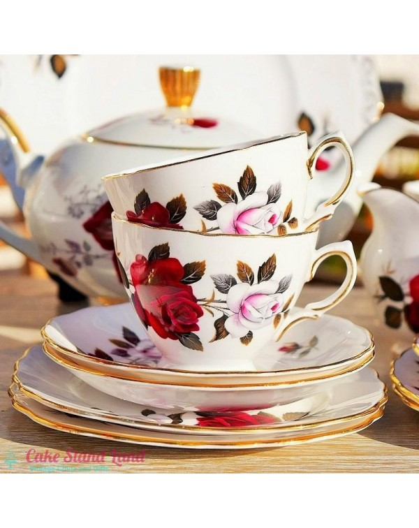 COLCLOUGH AMORETTA TEA TRIO
