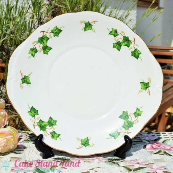 (OUT OF STOCK) COLCLOUGH IVY CAKE PLATE