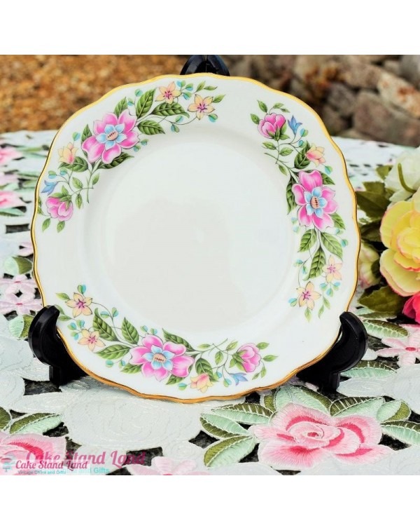 COLCLOUGH WILD ROSE TEA PLATE