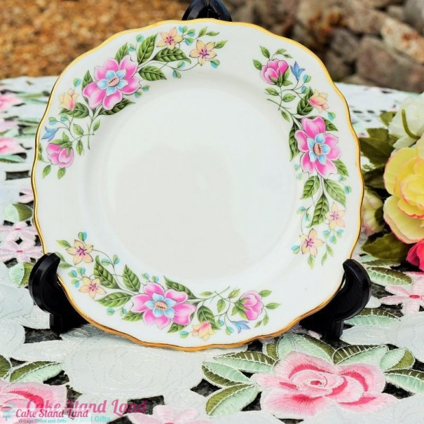 (OUT OF STOCK)  COLCLOUGH WILD ROSE TEA PLATE