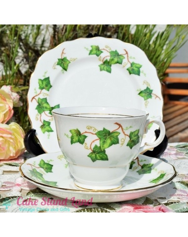 COLCLOUGH IVY TEA TRIO