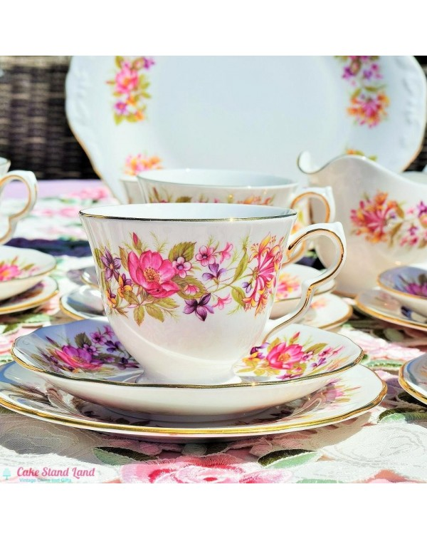 (OUT OF STOCK) COLCLOUGH WAYSIDE TEA SET