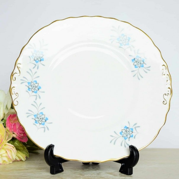 (OUT OF STOCK) COLCLOUGH CLEMATIS CAKE PLATE