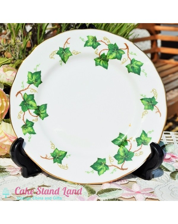 (OUT OF STOCK) COLCLOUGH IVY TEA PLATE