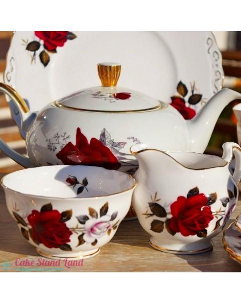 (OUT OF STOCK) COLCLOUGH AMORETTA TEA SET & TEAPOT