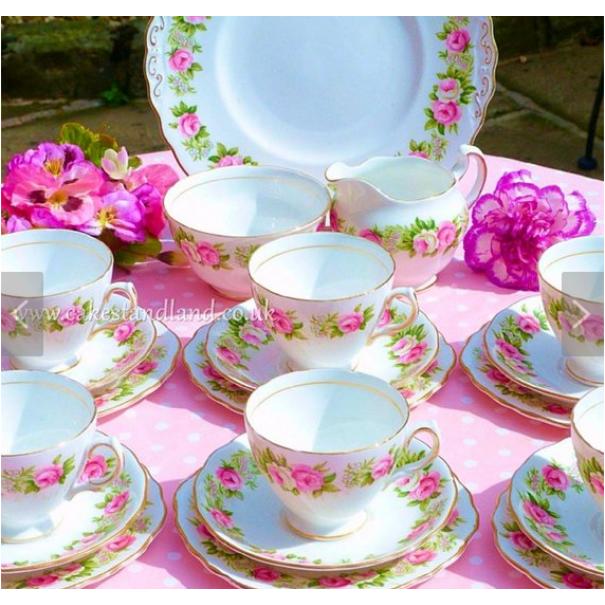 (OUT OF STOCK) COLCLOUGH ENCHANTMENT TEA SET