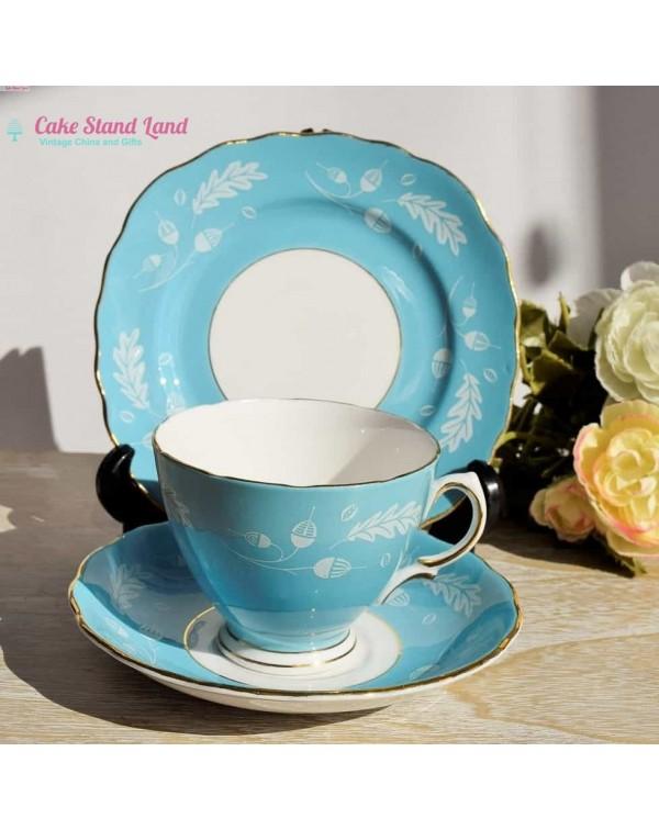 COLCLOUGH BLUE TEA TRIO