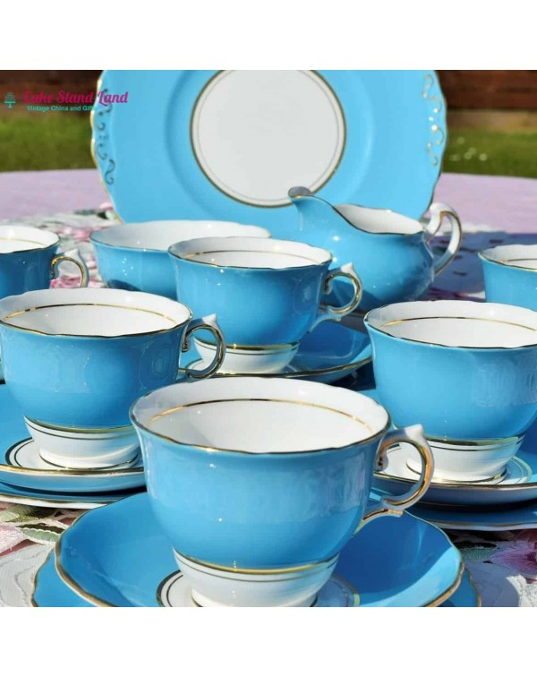 (OUT OF STOCK) COLCLOUGH BALLET BLUE VINTAGE TEA S...