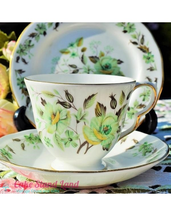 (OUT OF STOCK) COLCLOUGH SEDGLEY TEA TRIO